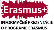 Informačné prezentácie o programe ERASMUS+ pre študentov STU