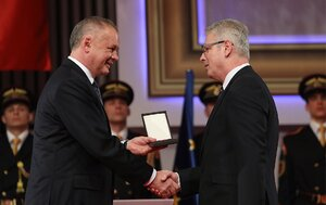 Profesor Valko z našej fakulty dostal najvyššie štátne ocenenie