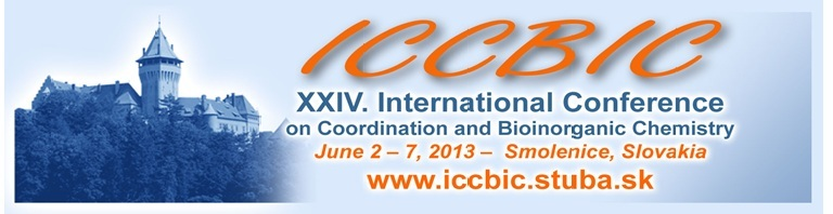 XXIV. International Conference on Coordination and Bioinorganic Chemistry